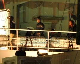 captain america 2 set photos