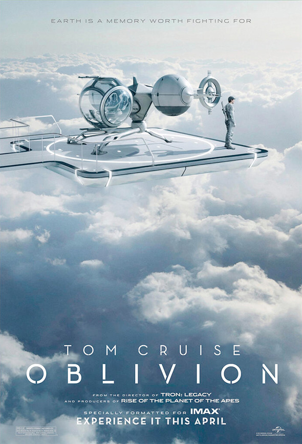oblivion imax poster