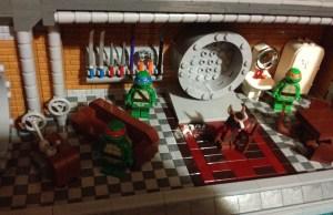 Classic Retro TMNT Lego Set