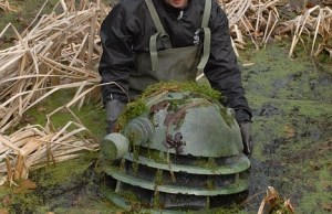 Doctor Who Dalek discovered at bottom of UK pond
