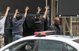 CAPTAIN AMERICA 2: Nick Fury Set Video and Photos