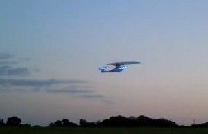 Radio-Controlled Flying USS Enterprise