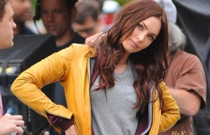 Megan Fox Gets April O'Neil's Yellow Jacket