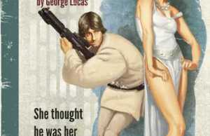 Star Wars Pulp Book Covers