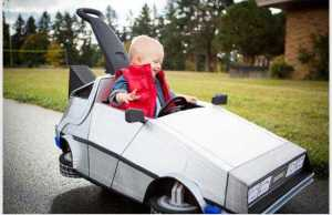 Back to the Future baby stroller
