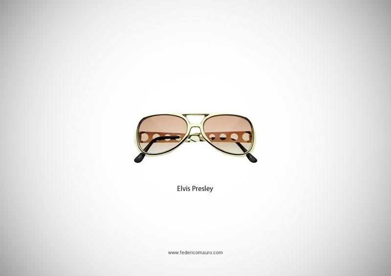 elvis presley glasses