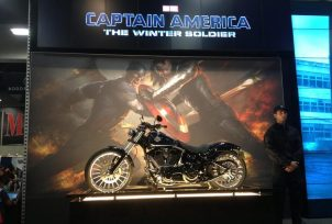 Captain America's New Motorcycle
