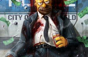 GTA and Simpsons Mashup