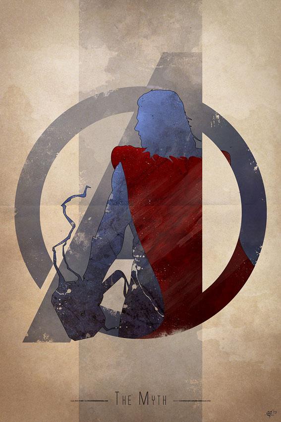 Anthony-Genuardi-Avengers-Logo-Thor