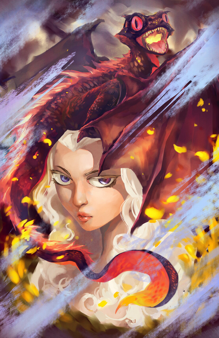 Doodle-Mon-Game-of-Thrones-Daenerys