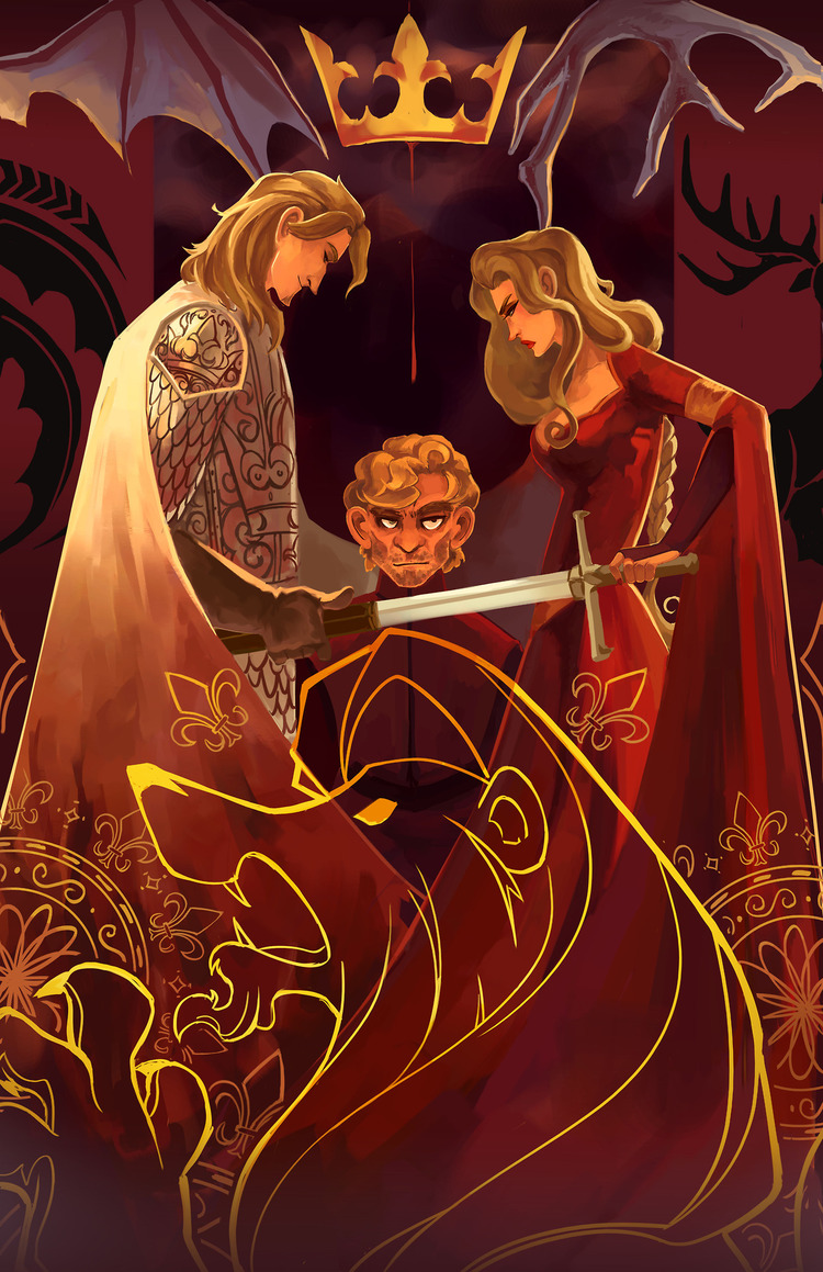 Doodle-Mon-Game-of-Thrones-Lannisters