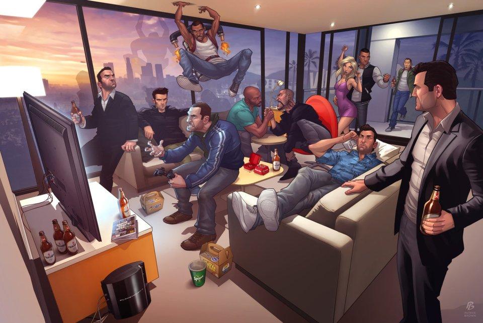 GTA 5 Fan Art