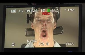 Benedict Cumberbatch Playing Smaug in THE HOBBIT