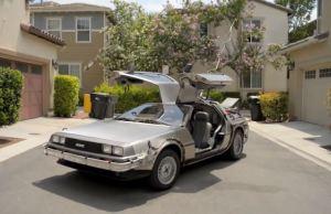 Real Life DeLorean Time Machine