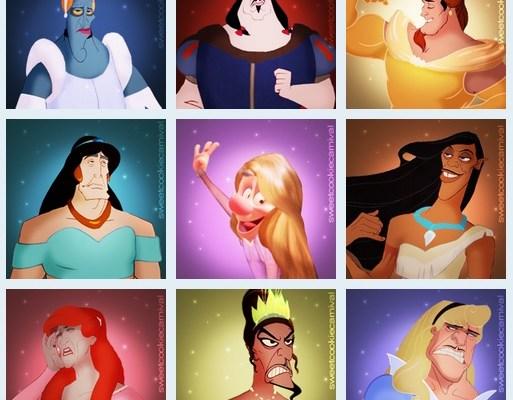 Disney Villains As Princesses
