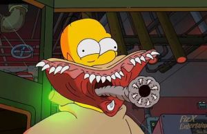 The Simpsons Treehouse of Horror XXIV by del Toro