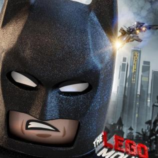 the lego movie batman poster