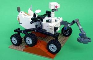 LEGO Mars Curiosity Rover To Launch On New Year's Day