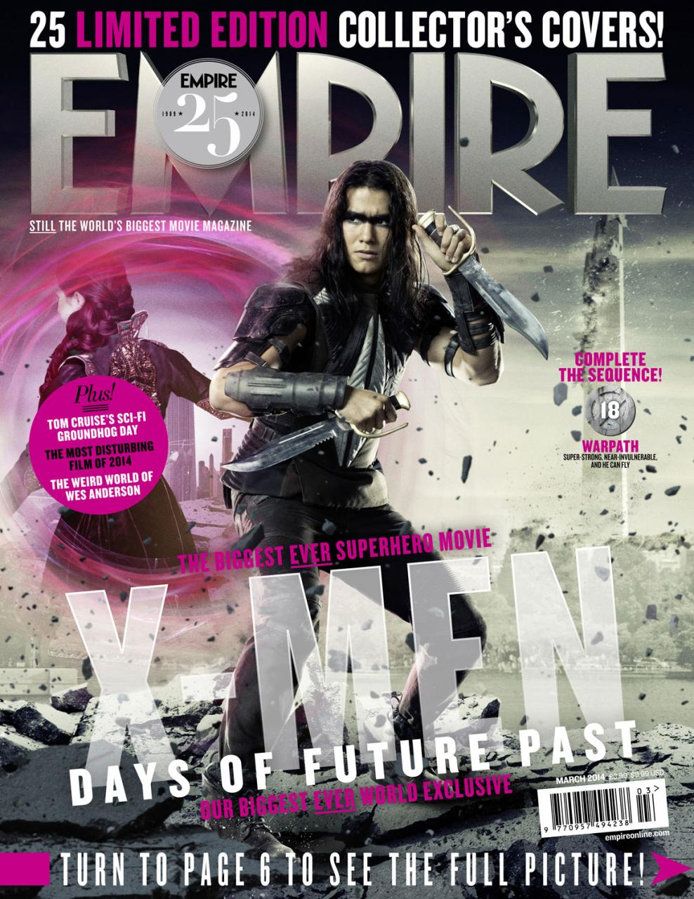 Empire Xmen Days Of Future Past Covers (2)