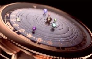 Six Planets Orbit the Sun Inside This Innovative Watch