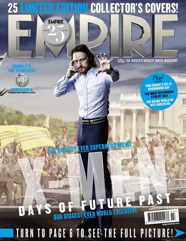 X-MEN DAYS OF FUTURE PAST Empire Magazine Covers  (4)