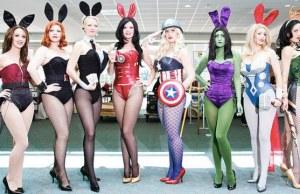 Female Avengers Cosplay
