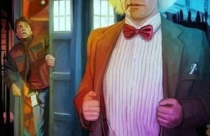 DOCTOR WHO and BACK TO THE FUTURE Mashup Art