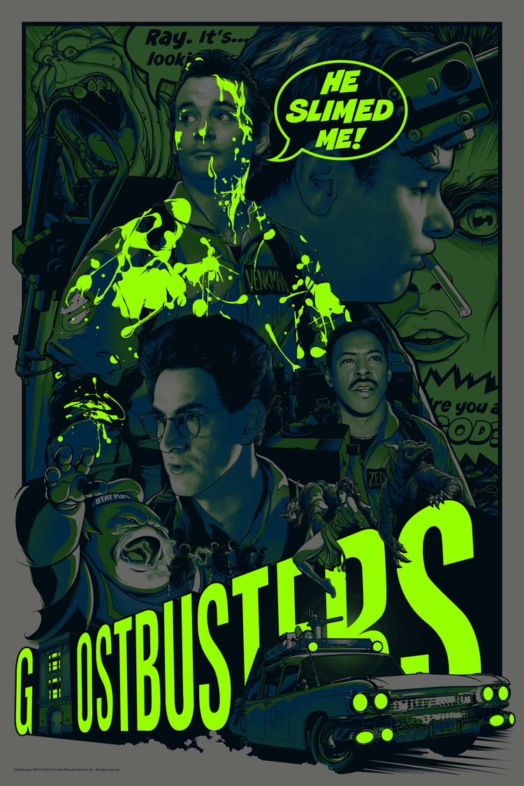 GHOSTBUSTERS 30th Anniversary Art Show Posters