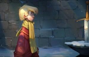 Disney's SWORD IN THE STONE fan art