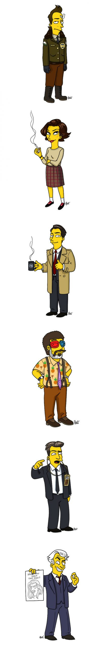 simpsonized-twin-peaks-characters (3)