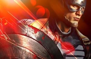 X Captain America 2 poster