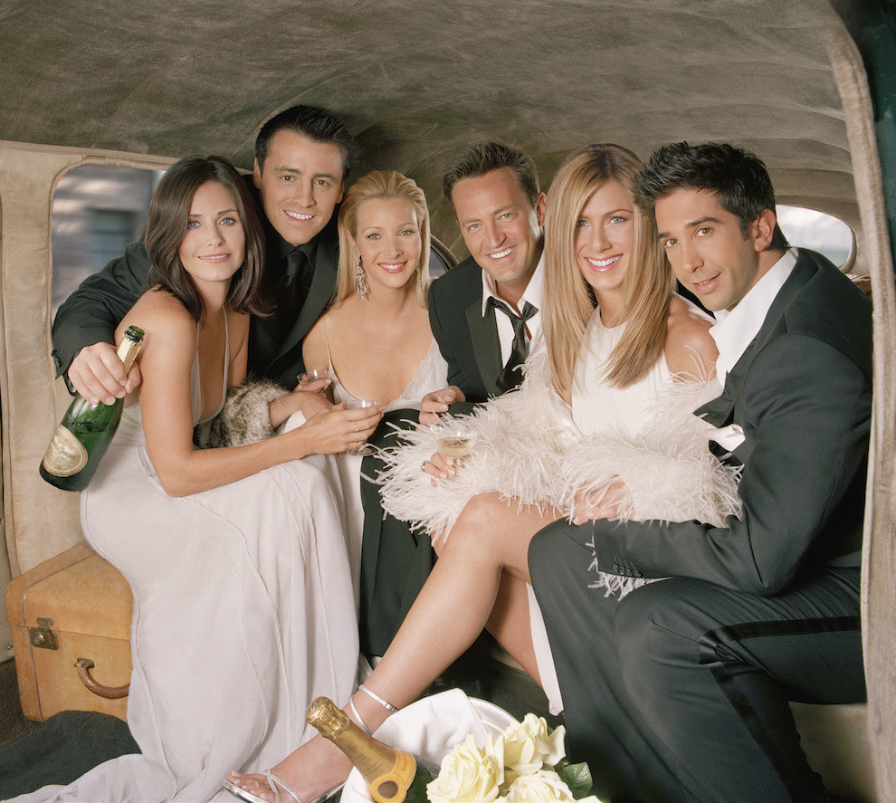 "Rare Photos Of ""Friends"" You Wish It Was The 90's All Over Again!"