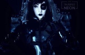 Beautiful Domino X-Force Cosplay