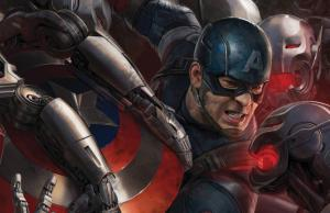 Captain America in Avengers: Age of Ultron Posters