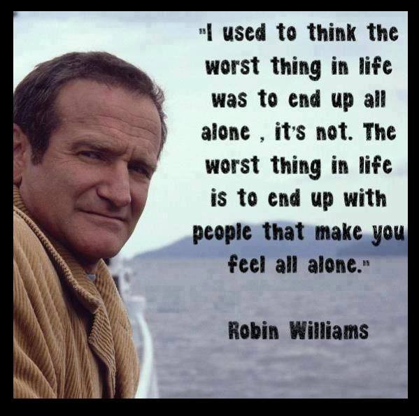 Robin Williams has died in an apparent suicide
