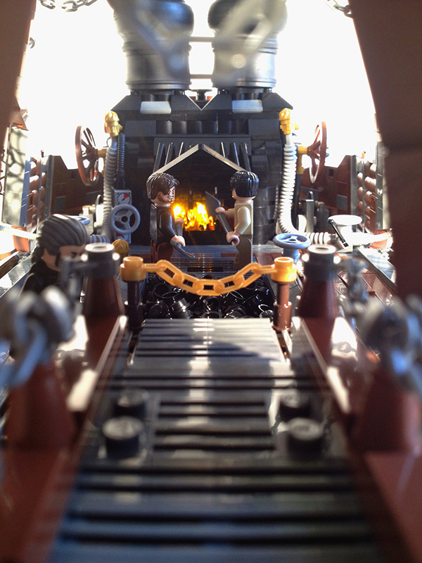 Steampunk LEGO AT-AT Walker