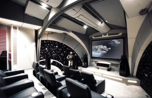 Custom-Made Star Wars Home Theater