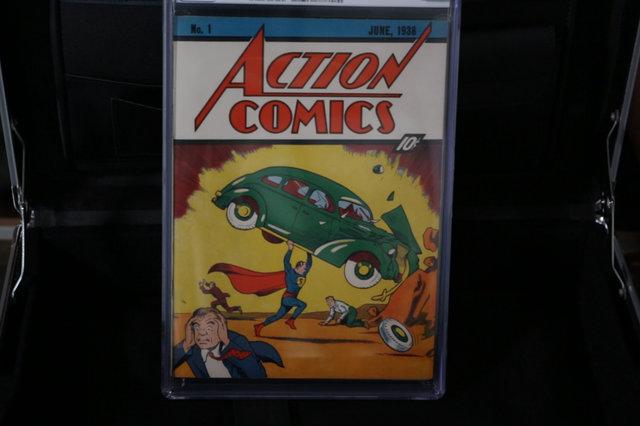 Superman's Debut Comic Sold For $3.2 million