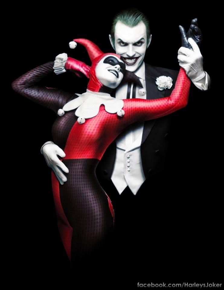 Joker and Harley Cosplay