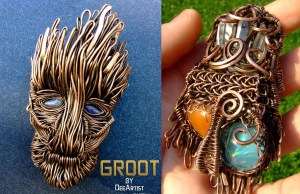 Magnificent Groot (Guardians of the Galaxy) Pendant