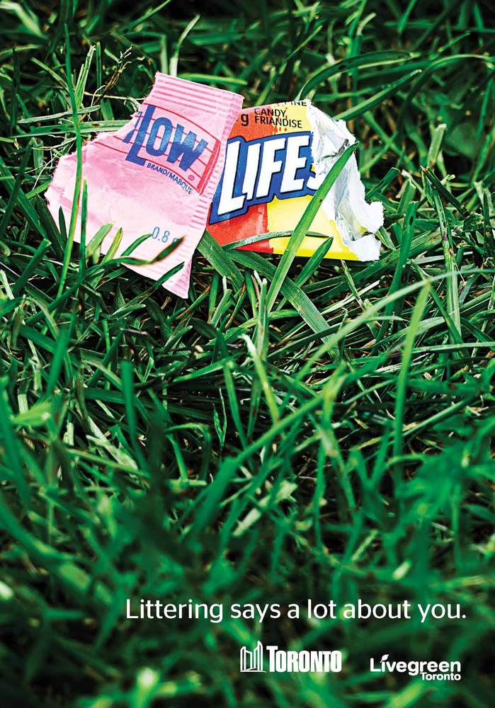 Toronto's Anti-Littering Campaign is Effective