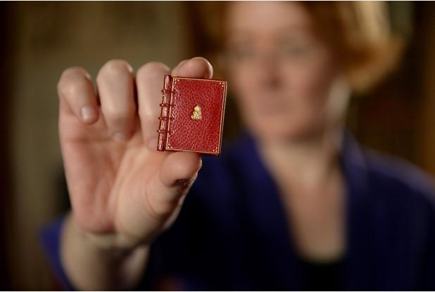 Miniature Sherlock Holmes book printed
