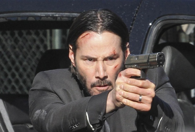 BG_Keanu Reeves on the set of John Wick_009