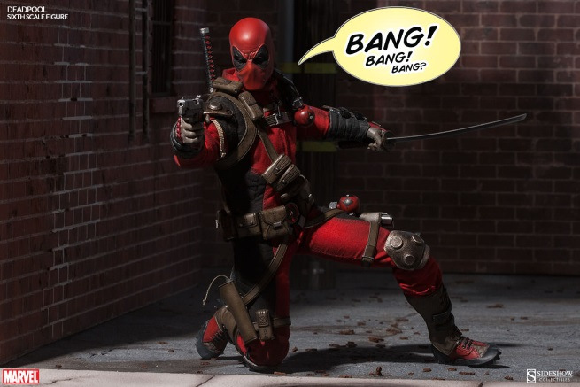 Deadpool 16th Scale Action Figure By Sideshow