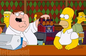 Simpsons Meets Family Guy New Pictures