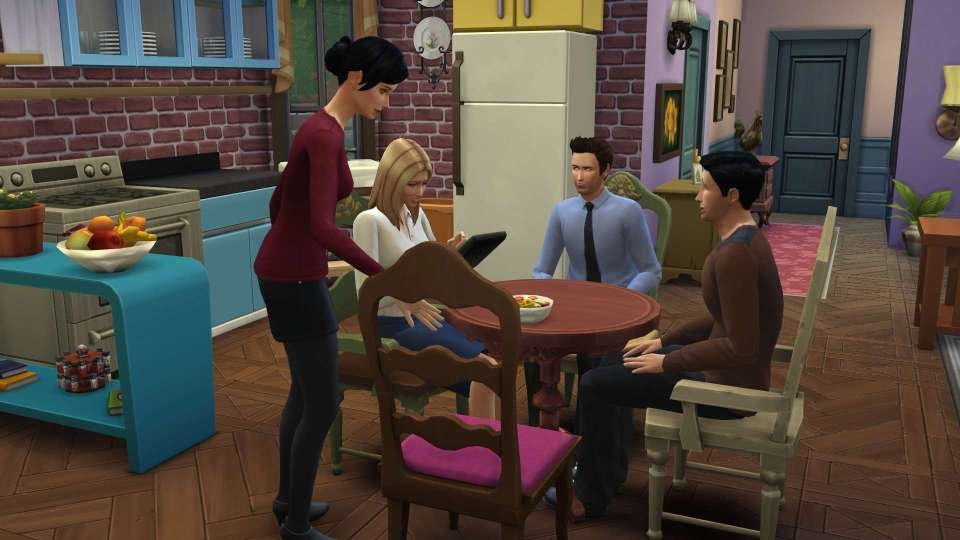 Superfan Brilliantly Recreates 'Friends' In 'The Sims 4'