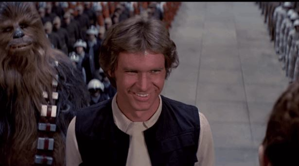 The Final Scene in Star Wars Without Music is Kind of Creepy