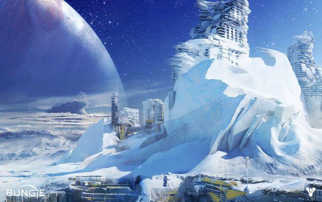 Amazing Concept Art Of Bungie's Destiny