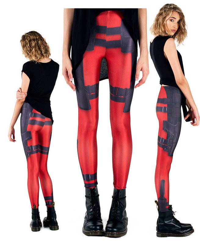 Deadpool Leggings for the Geek Girls
