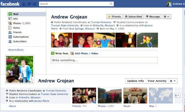 Facebook Timeline Designs